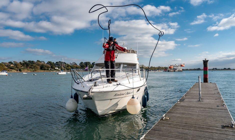 Practice your boat handling skills