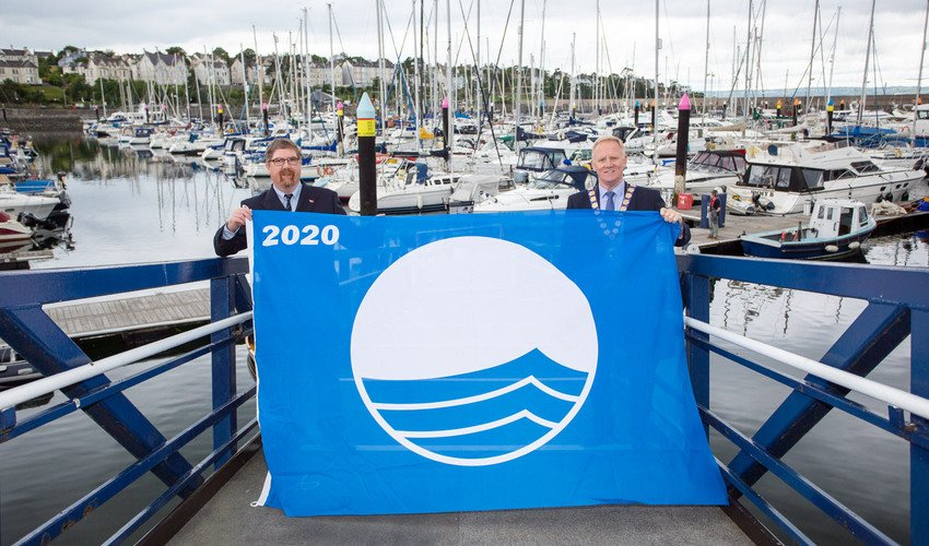 Bangor Marina Wins 2020 Blue Flag Award