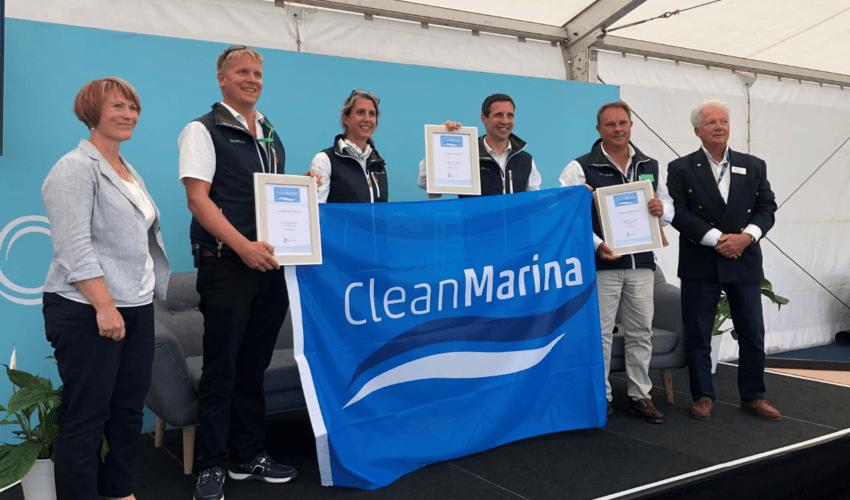 Clean marina web image