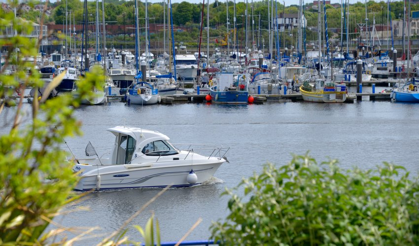 Royal Quays visiting