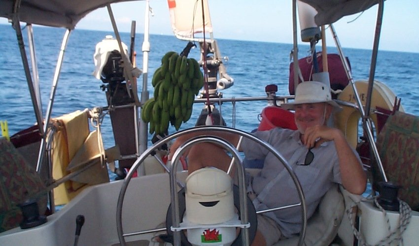Sailing in the Pacific