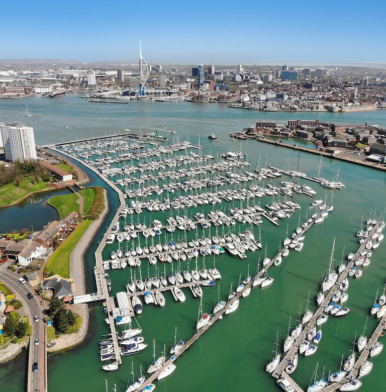 Haslar drone picture