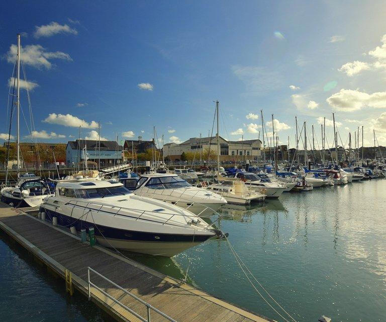 Annual berthing at Weymouth Marina