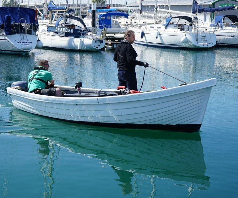 POO boat in Haslar 2