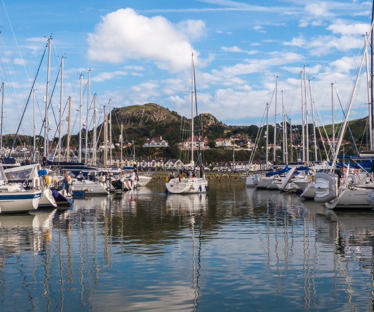 Getting to Conwy Marina