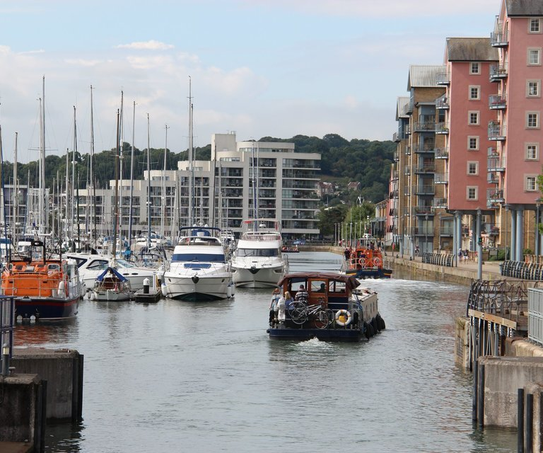 Getting to Portishead Marina