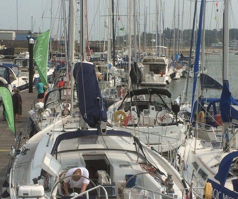 Haslar Yacht Club rally