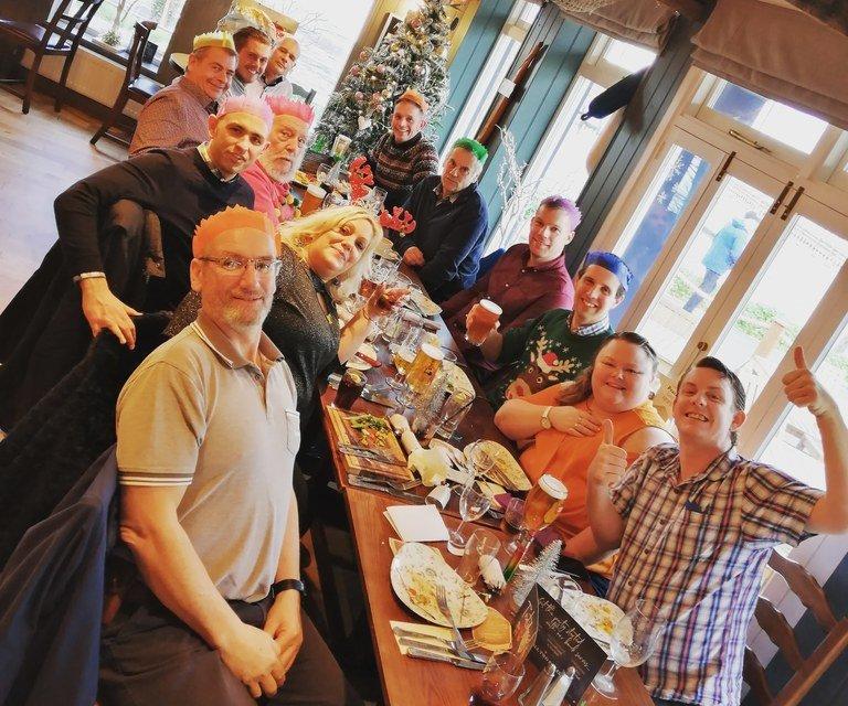 Haslar team Christmas 2019