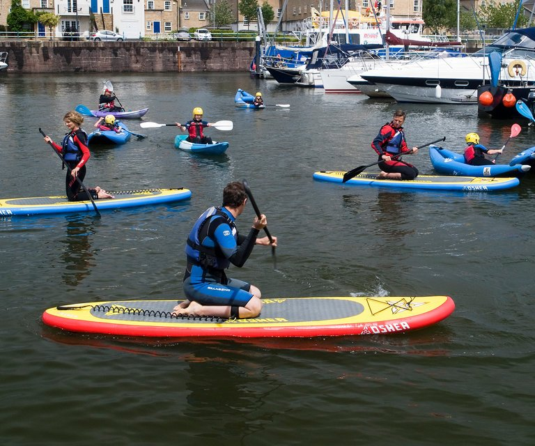 On the water in Penarth
