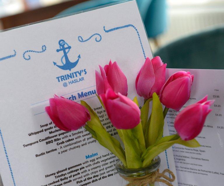 Trinity's at Haslar menu