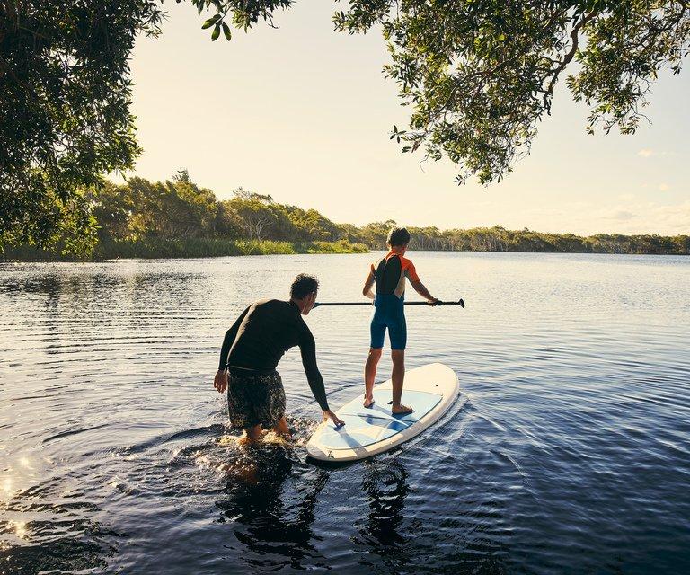 Upriver fun with Deacons marina