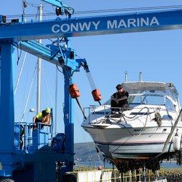 conwy boatlift