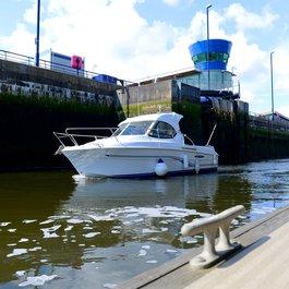 Royal Quays locks