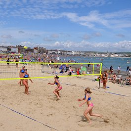 weymouth beach volleyball