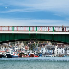 weymouth marina bridge