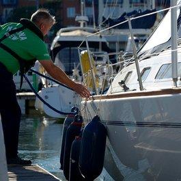 weymouth marina staff crew
