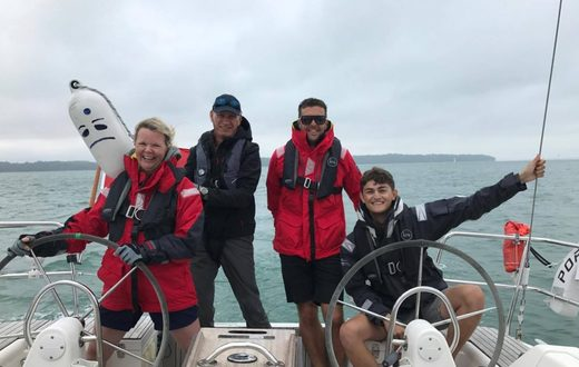 Bacchus yachting day skipper