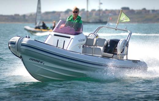 Gemini II RIB, great fun for the whole family at Portland marina