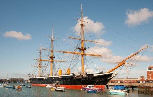 HMS Warrior Haslar Marina
