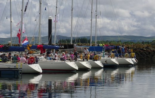 On the water at Rhu