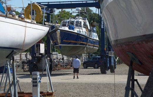 Rhu marina boat repairs maintenance intro