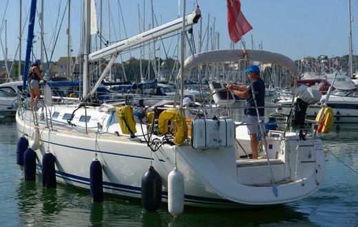 Visitor berthing at Weymouth