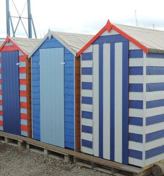 Beach huts for hire