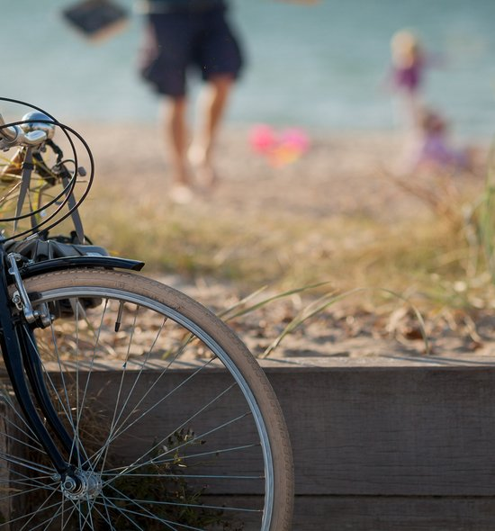 Bike and family