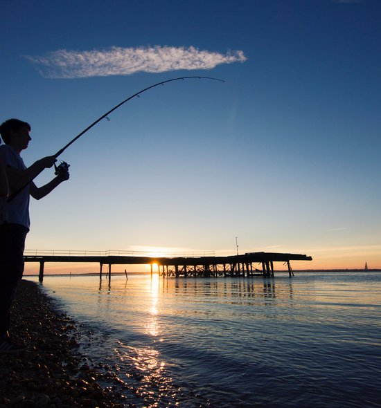 Evening Fishing Totland