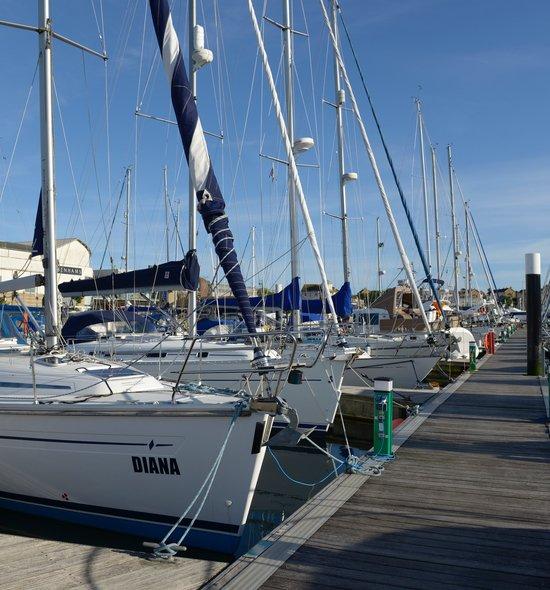 Facilities at Weymouth marina