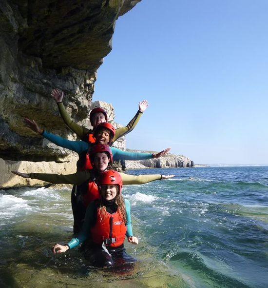 Pump up the adrenaline with coasteering