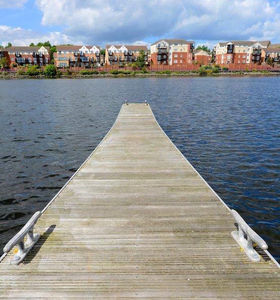 Royal Quays pontoon