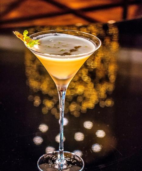 Aqua dining and cocktail bar