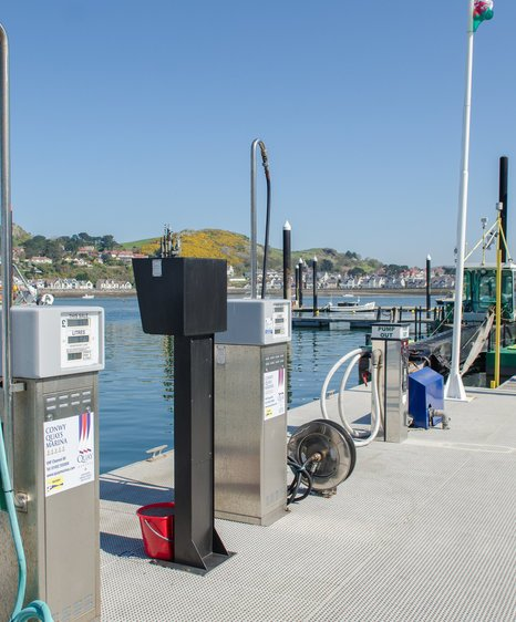 boatfolk conwy marina services and faciltiies fuel