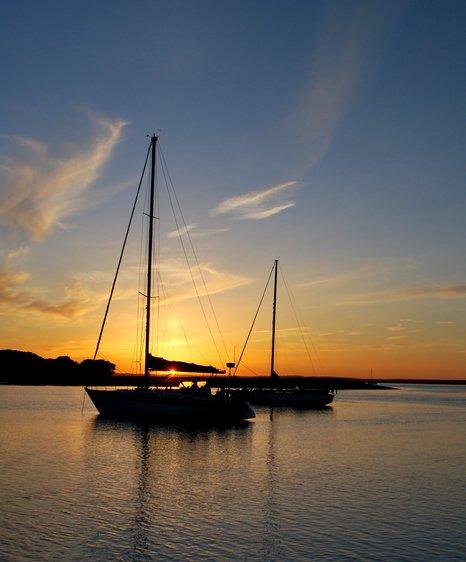 Newtown sunset